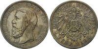 5 Mark 1898 Baden, Friedrich I., 1856-1907...