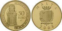 50 Euro 2008 Malta, Auberge de Castille, P...
