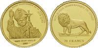 20 Francs 2003 Kongo, Papst Johannes Paul ...