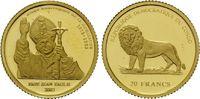 20 Francs 2003 Kongo, Johannes Paul II., PP