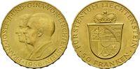 75 Franken 1956 Liechtenstein, Franz Josef...