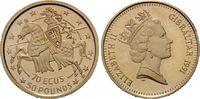 70 Ecus - 50 Pounds 1991 Gibraltar, Gibral...