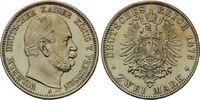 2 Mark 1876 A Preussen, Wilhelm I., 1861-1...