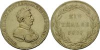 Taler 1821 Hessen, Wilhelm II., 1821-1847, ss