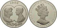 25 Pounds 1986 Falkland, Hochzeit Sarah Fe...
