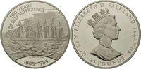 25 Pounds 1985 Falkland, S.S. Great Britai...