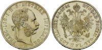Doppelgulden 1891, Haus Habsburg, Franz Joseph I., 1848-1916, st  345,00 EUR  +  9,90 EUR shipping