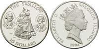 10 Dollars 1994 Salomonen, Geschichte der Seefahrt - Segelschiff Swallo... 32,00 EUR  +  9,90 EUR shipping