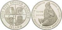 1000 Kronen 2000 Island, 1000.Jahrestag de...