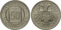 50 Groschen 1934, Österreich, Nachtschilli...