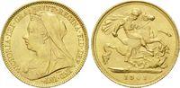 1/2 Sovereign 1901, Großbritannien, Victor...