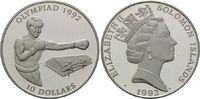 10 Dollars 1992 Salomonen, Olympische Spie...