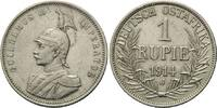 1 Rupie 1914 J Deutsch Ostafrika, Wilhelm ...