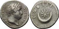 AR Denar 125-128 Röm. Reich, Hadrian, 117-...