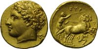 Dekadrachme, 317-310 v. Chr. Sizilien, Syr...