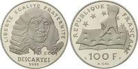 100 Francs / 15 Ecu 1991 Frankreich, Rene ...