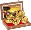 8.500 Francs 2016 Kamerun, Büffel-Goldsatz...