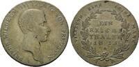 Taler 1815 A, Preussen, Friedrich Wilhelm ...