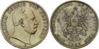 Doppeltaler 1867, Preussen, Wilhelm I., 18...