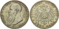 5 Mark 1908, Sachsen-Meiningen, Georg II.,...
