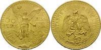 50 Pesos 1924, Mexiko, Centenario, vz-st, ...