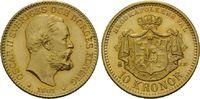 10 Kronen 1901 Schweden, Oskar II., 1872-1...