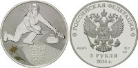 3 Rubel 2014, Russland, Olympiade Sotchi 2...