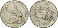 500 Lire 1961, Italien,  ss