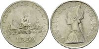 500 Lire 1958, Italien,  vz