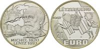 20 Euro 1997, Luxemburg, Michel Lentz, PP