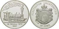 20 Euro 1997, Liechtenstein, 125 Jahre Eis...