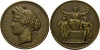 Medaille 1848, Frankreich, Einrichtung der...