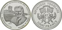 1000 Francs 2001, Togo, Fußball-WM, PP