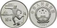 10 Yuan 1994, China, Fußball-WM 1994 in de...