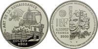 6,55957 Francs / 1 Euro 2000, Frankreich, ...