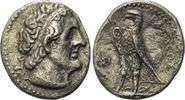 AR Tetradrachme 266/5 v. Chr., Ägypten, Pt...
