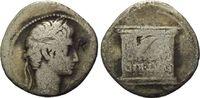 AR Denar 20-19 v.Chr Röm. Reich, Augustus,...