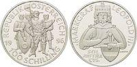 100 Schilling 1996, Österreich, 1000 Jahre...