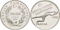750.000 Lira 1996, Türkei, Fußball WM 98 F...