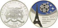 1000 Francs CFA 1997, Benin, Fußball Weltm...