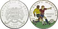 1000 Francs CFA 1996, Benin, Fußball Weltm...
