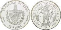 10 Pesos 1996, Kuba, Fußball Weltmeistersc...