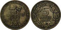 5 Reichsmark 1925 E, Weimarer Republik,  w...