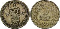 3 Reichsmark 1925J, Weimarer Republik,  Hs...