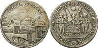 Ausbeutetaler 1698, Henneberg, Galvano, ss