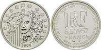 6,55957 Francs / 1 Euro 1999, Frankreich,  PP