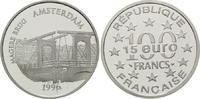 100 Francs / 15 Euro 1997, Frankreich, Lis...
