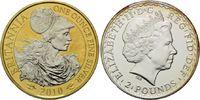 2 Pounds 2010, Großbritannien, Britannia, ...