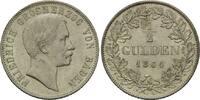 1/2 Gulden 1864, Baden, Friedrich I., 1856...