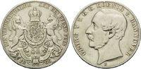 Vereinstaler 1866 B, Hannover, Georg V., 1...